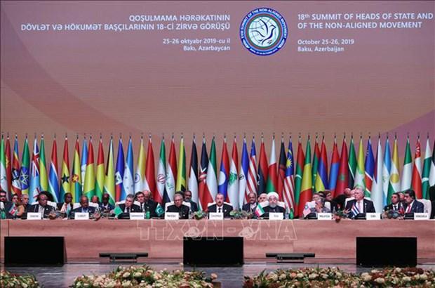 Le Sommet du Mouvement des pays non alignes adopte des documents importants hinh anh 1