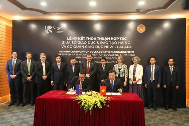Hanoi encourage la cooperation avec la Nouvelle-Zelande dans le domaine de l'education hinh anh 1