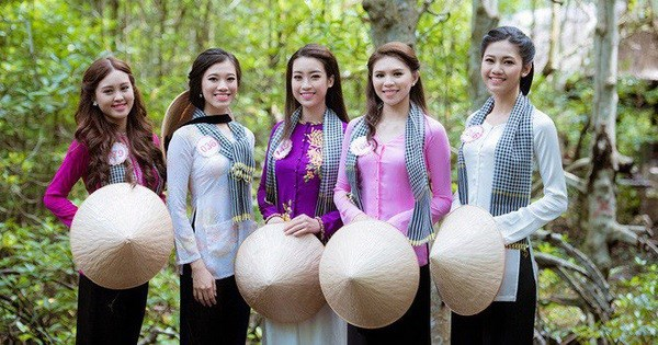 La premiere fete de l'ao ba ba au Vietnam hinh anh 1