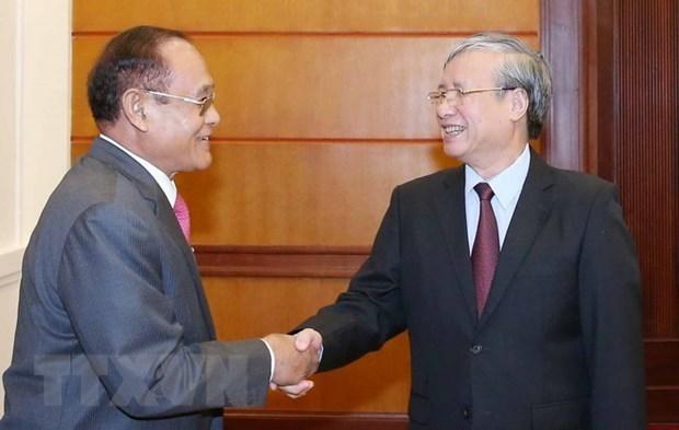 Promotion des relations d'amitie et de coooperation entre le Vietnam et le Cambodge hinh anh 1
