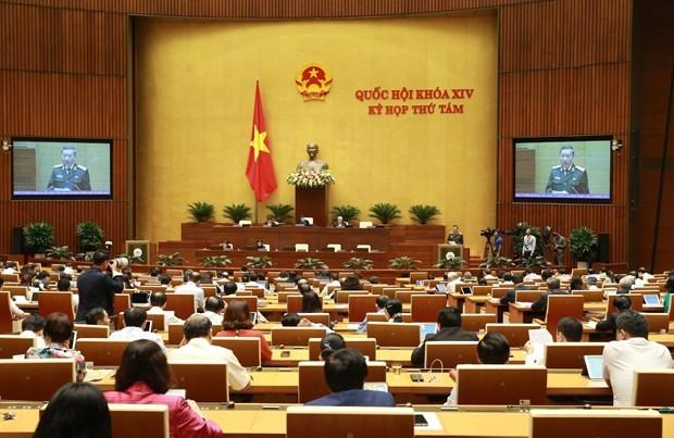 L'AN discute du travail judiciaire, de la lutte contre la criminalite le 4 novembre hinh anh 1