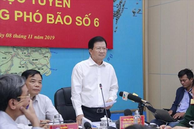 Le Vietnam se prepare a affronter le typhon Nakri hinh anh 1