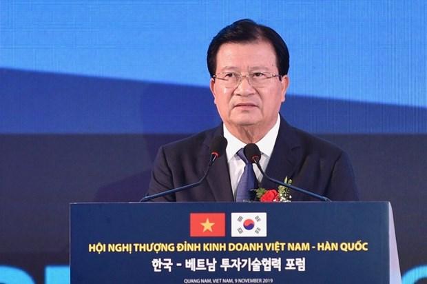Sommet d'affaires Vietnam-Republique de Coree hinh anh 1