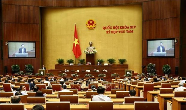 8e session de l'Assemblee nationale: le projet d'aeroport de Long Thanh en debat hinh anh 1