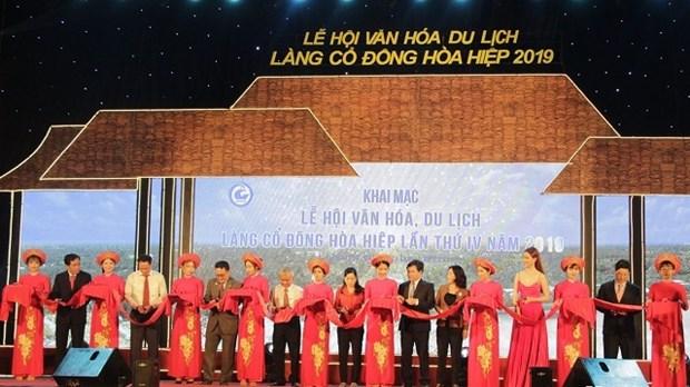 Pour preserver les valeurs patrimoniales de l'ancien village de Dong Hoa Hiep hinh anh 1