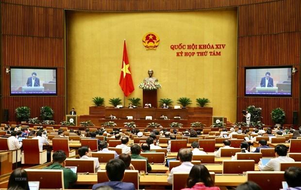 Les legislateurs votent la resolution sur l'allocation budgetaire pour 2020 hinh anh 1