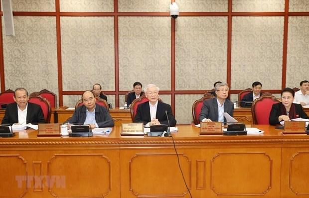 Le Politburo examine le developpement des villes de Hue et Buon Ma Thuot hinh anh 1