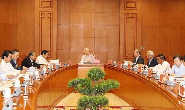 Reunion du Comite central de pilotage de la lutte contre la corruption hinh anh 1