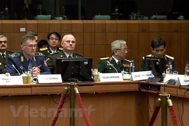 Vietnam-Union europeenne : dialogue sur la defense et la securite hinh anh 1