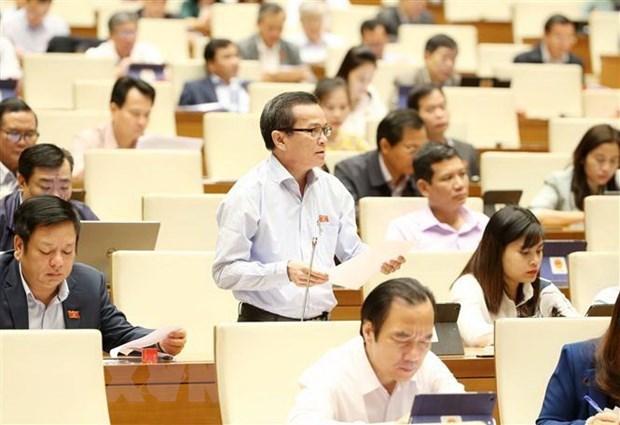 Les legislateurs prennent des decisions sur trois projets de loi et le travail du personnel hinh anh 1