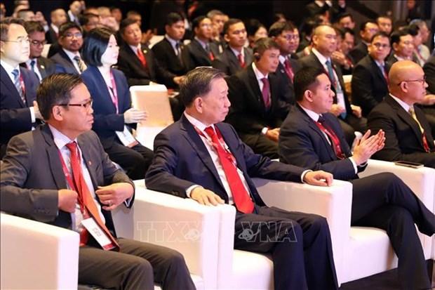 Reunion des ministres de l'ASEAN sur la lutte contre la criminalite transnationale hinh anh 1