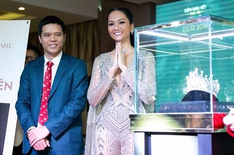 La magnifique couronne de la future Miss Univers Vietnam 2019 hinh anh 1