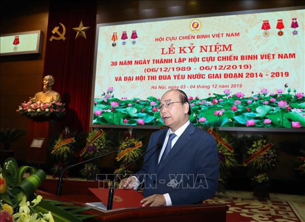 L'Association des anciens combattants du Vietnam est vraiment un solide soutien du Parti hinh anh 1