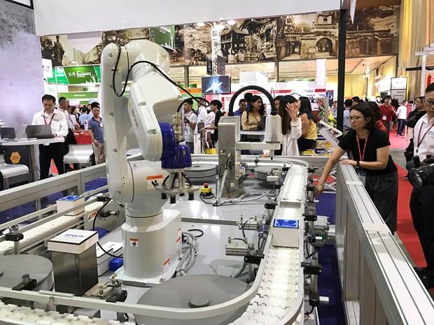 Forte croissance des exportations de machines-outils au Canada hinh anh 1