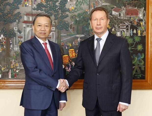 Vietnam et Russie renforcent leur cooperation dans la lutte contre la criminalite hinh anh 1