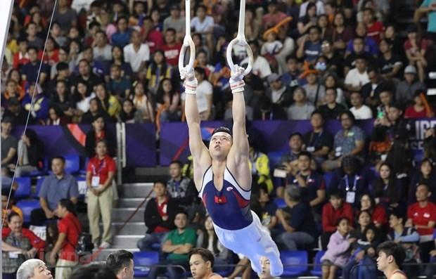 Le Vietnam conserve la deuxieme place au classement des SEA Games 30 hinh anh 1