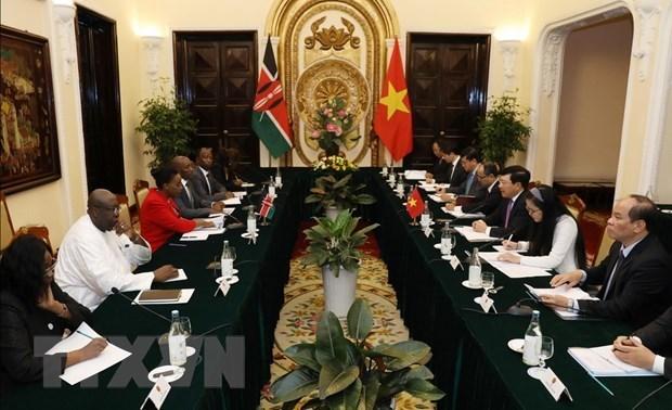 Vietnam et Kenya approuvent des mesures specifiques pour renforcer les liens bilateraux hinh anh 1