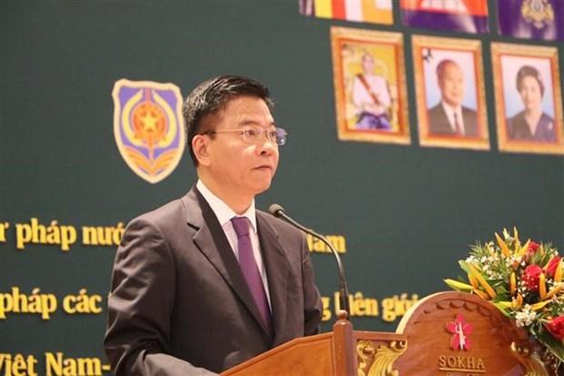 Vietnam et Cambodge promeuvent leur cooperation en matiere judiciaire hinh anh 1