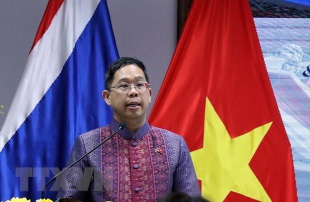 Celebration de la 92e fete nationale du Royaume de Thailande a Ho Chi Minh-Ville hinh anh 1