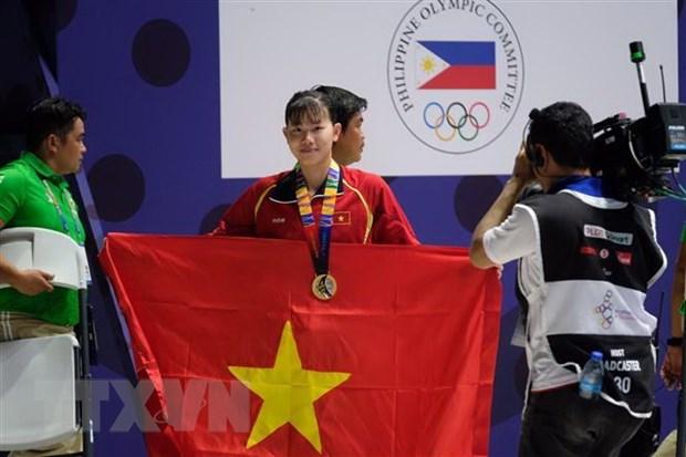SEA Games 30 : Le Vietnam obtient huit medailles d'or au septieme jour de la competition hinh anh 1