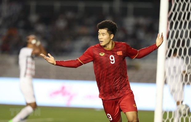 Football : le Vietnam bat le Cambodge 4-0 aux SEA Games 30 hinh anh 1