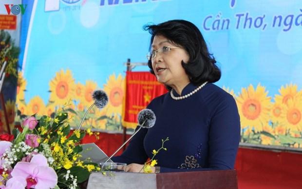 40 bougies pour l'Universite de medecine et de pharmacie de Can Tho hinh anh 1