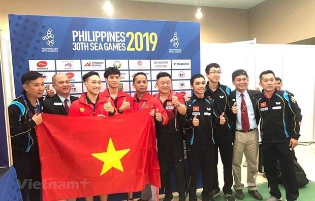 SEA Games 30: une medaille d'or historique pour le tennis de table vietnamien hinh anh 1
