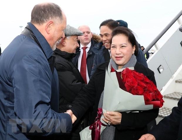 La presidente de l'AN arrive a Kazan, au Tatarstan hinh anh 1