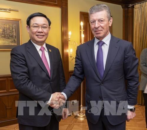 Le Vietnam attache de l'importance a la cooperation multiforme avec la Russie hinh anh 1
