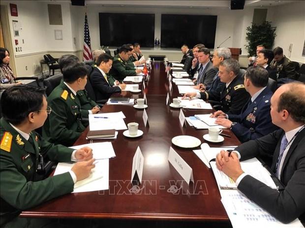 Dialogue Vietnam-Etats-Unis sur la politique de defense 2019 hinh anh 1