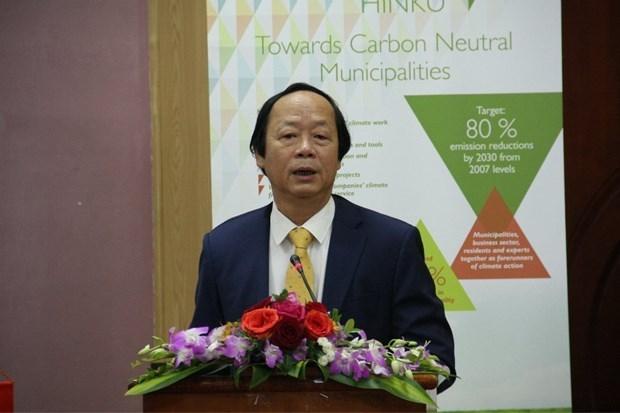 La Finlande aide le Vietnam a construire des villes neutres en carbone hinh anh 1