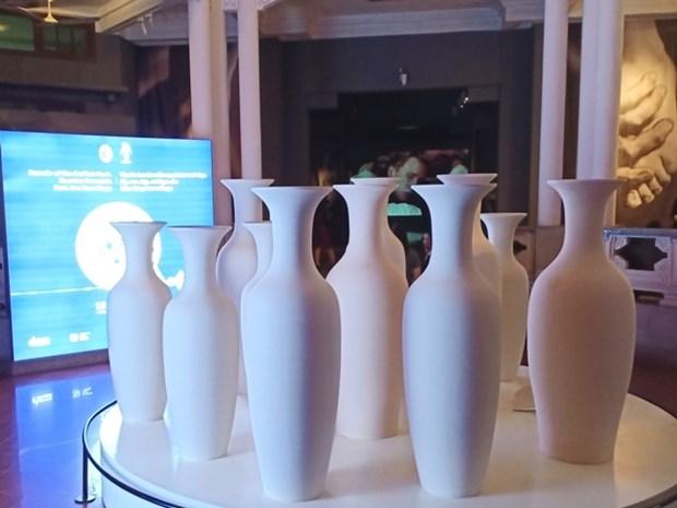 L'art de la porcelaine russe a l'honneur a Hanoi hinh anh 1