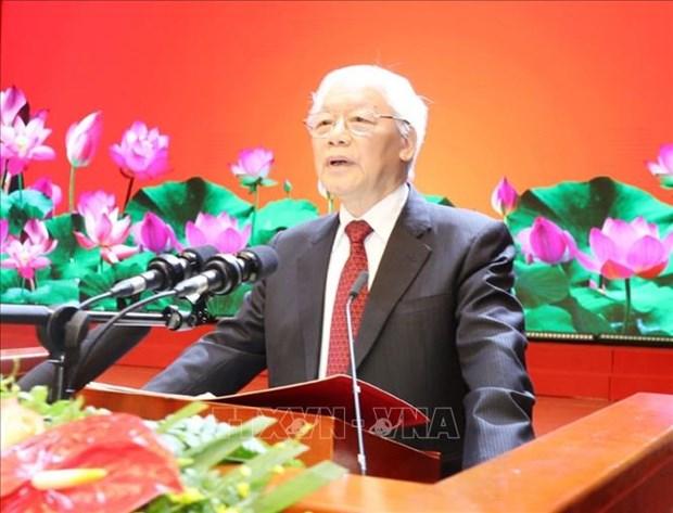 President de l'ASEAN et membre non permanent du CSNU : Message du haut dirigeant hinh anh 1