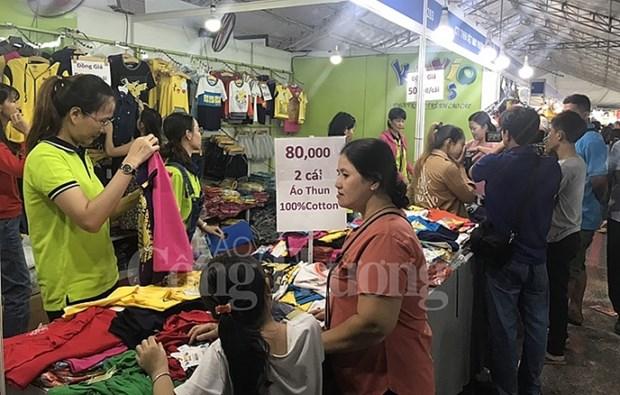 HCM-Ville: 230 entreprises a la foire de la consommation 2019 hinh anh 1