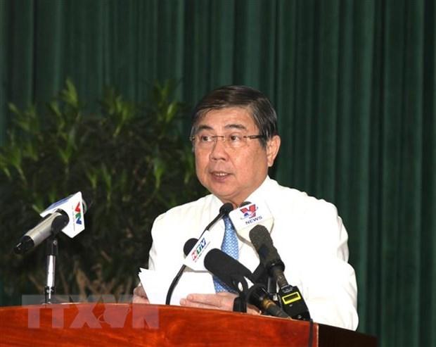 Ho Chi Minh-Ville renforce sa restructuration economique et sa competitivite hinh anh 1