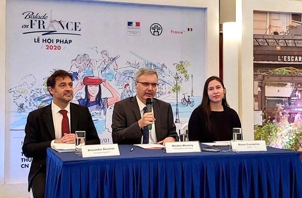 Balade en France, un festival dedie a la France au cœur de Hanoi hinh anh 1