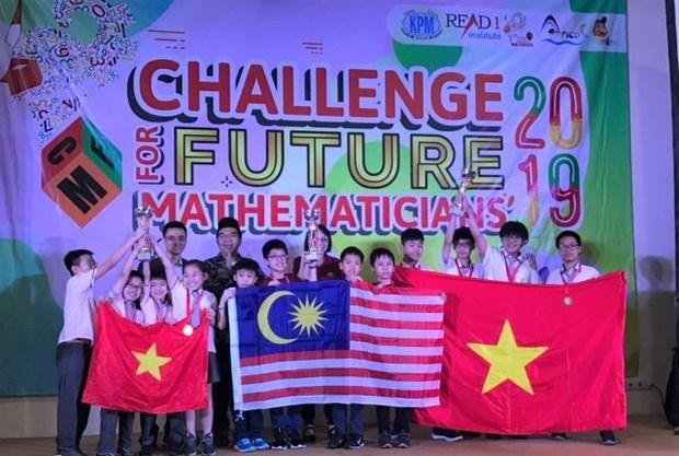 Concours «Defis des mathematiciens du futur»: Le Vietnam rafle dix medailles d'or hinh anh 1