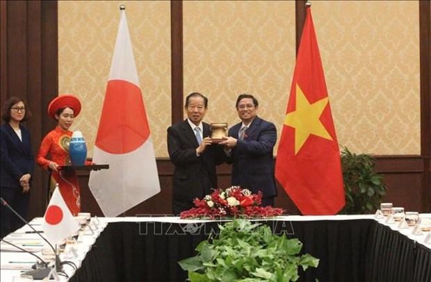 Des responsables vietnamiens et japonais conviennent de renforcer les relations parlementaires hinh anh 1