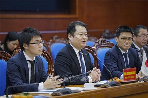 Une delegation de la prefecture d'Yamanashi (Japon) en visite de travail a Hoa Binh hinh anh 1