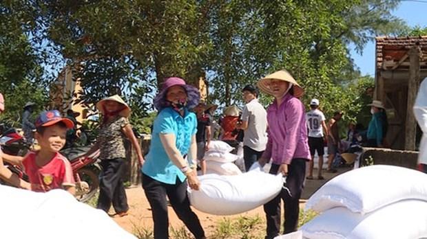 Tet du Rat 2020: des milliers de tonnes de riz en faveur des habitants demunis hinh anh 1