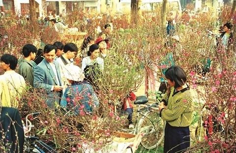 Le marche du Tet, une belle tradition des Vietnamiens hinh anh 1