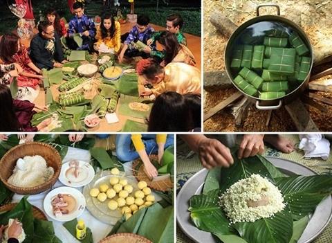 Le Banh chung, plat emblematique du Tet hinh anh 1