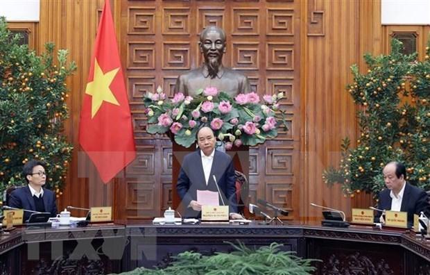 Le PM demande des efforts conjoints contre le nCoV hinh anh 1