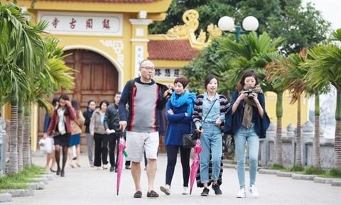 Croissance de 70% du nombre de touristes chinois se rendant au Vietnam hinh anh 1