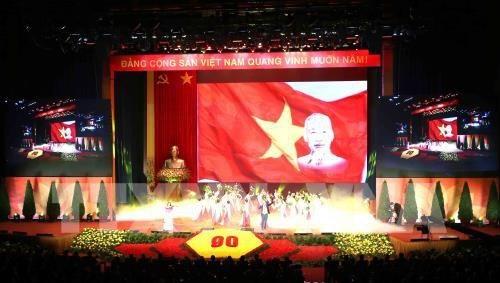 Activites a l'occasion des 90 ans du Parti communiste du Vietnam hinh anh 1