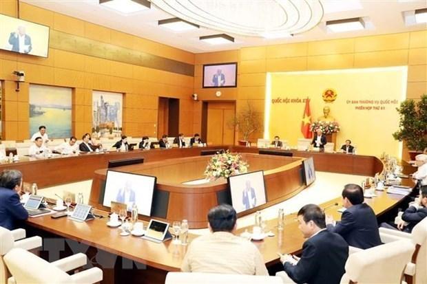 Ouverture de la 42e session du Comite permanent de l'AN hinh anh 1