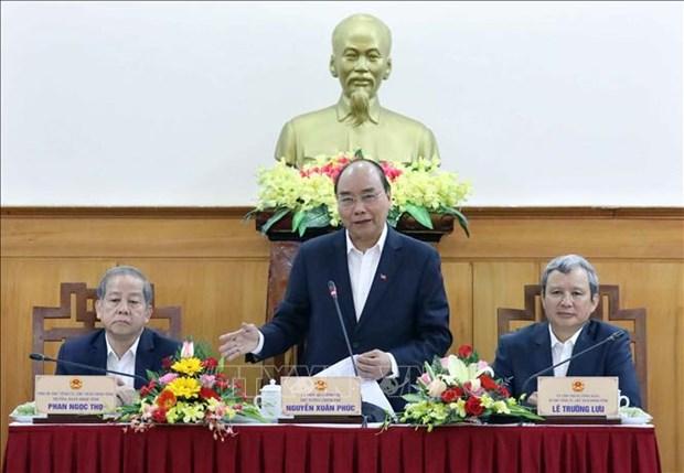 PM: Thua Thien-Hue doit rapidement surmonter l'impact du nCoV hinh anh 1