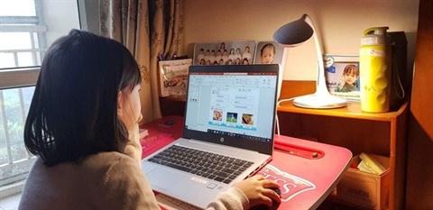 nCoV : l'enseignement en ligne en pleine effervescence hinh anh 1