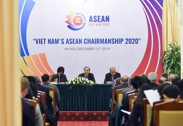 ASEAN: le developpement economique, la priorite du Vietnam hinh anh 1