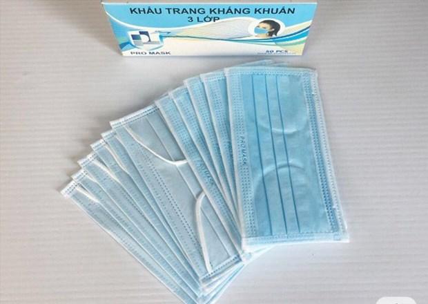 Les masques sanitaires sont exportees avec permission hinh anh 1